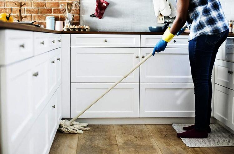 Уборка на кухне