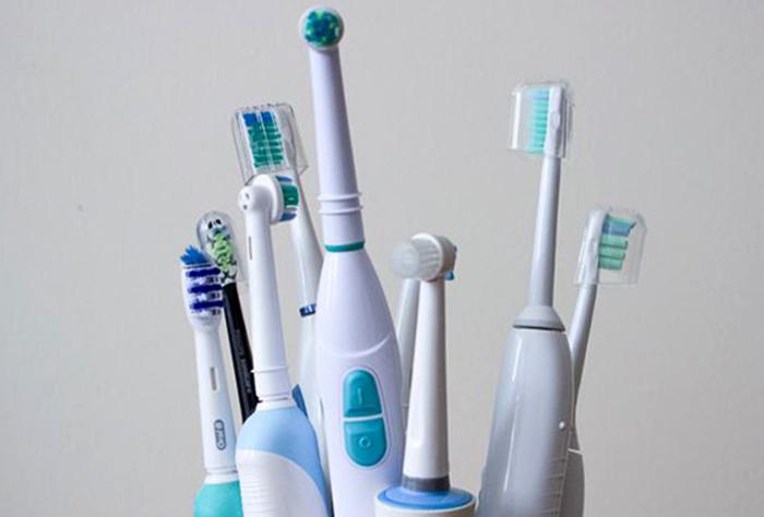 Разные электрические зубные щетки