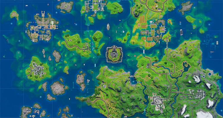 Карта Fortnine