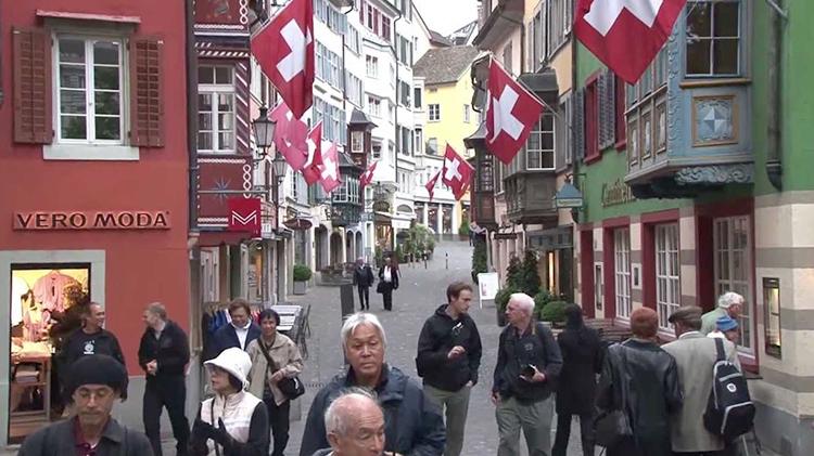 Улица в Швейцарии