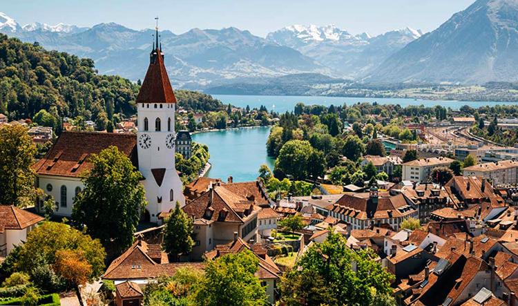 Красивая Швейцария