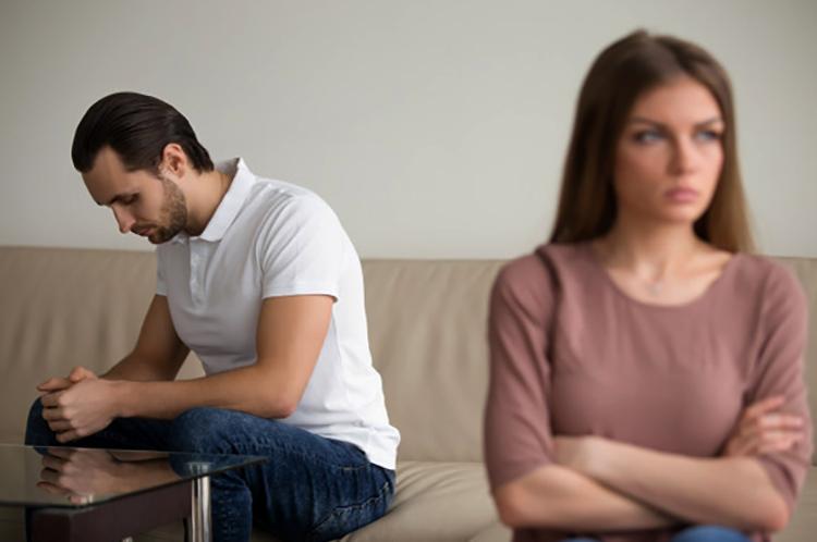 Жена разочаровалась в муже