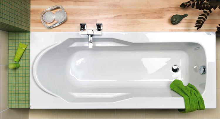 Новая ванная из акрила